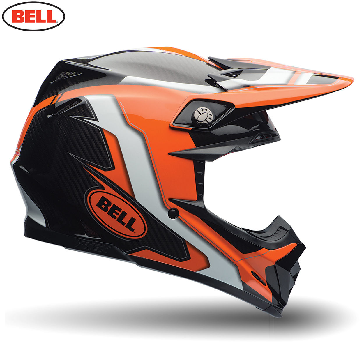 b18a6f36 2017 MX Bell Moto 9 Flex Factory Orange